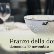 pranzo domenica 10 novembre