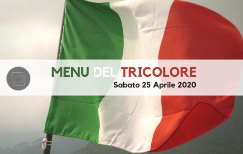 menu del tricolore